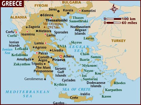 CLICK FOR LONELY PLANET INTERACTIVE MAP OF GREECE