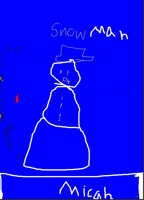 Snowman by Micah 2-106
