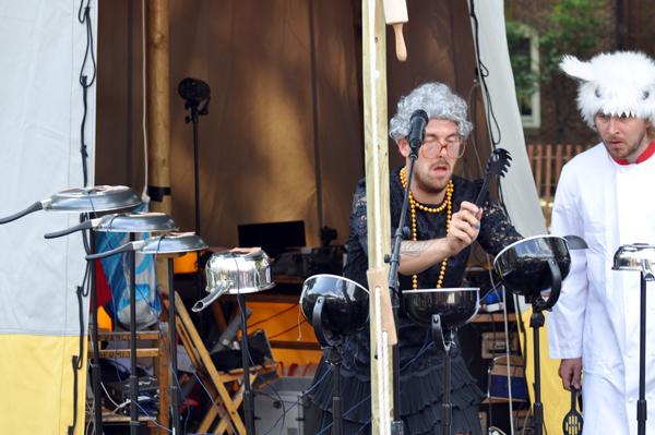 Pots & Pans Electronic Sampler Band