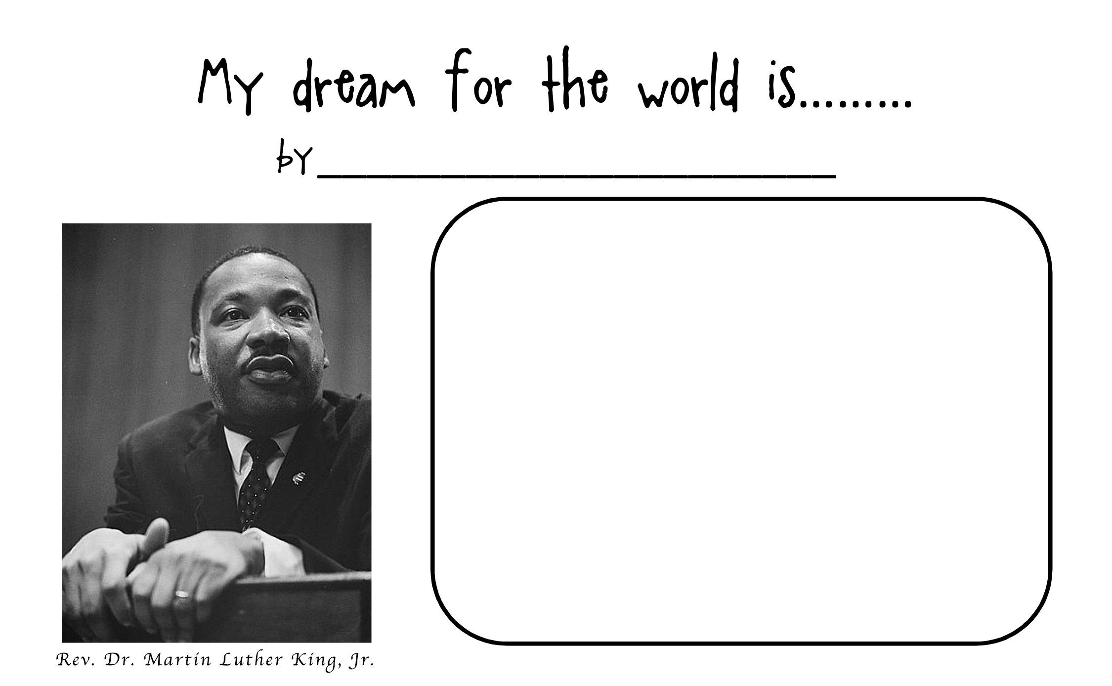 Martin Luther King Jr Activities For Kids Microsoft powerpoint ...