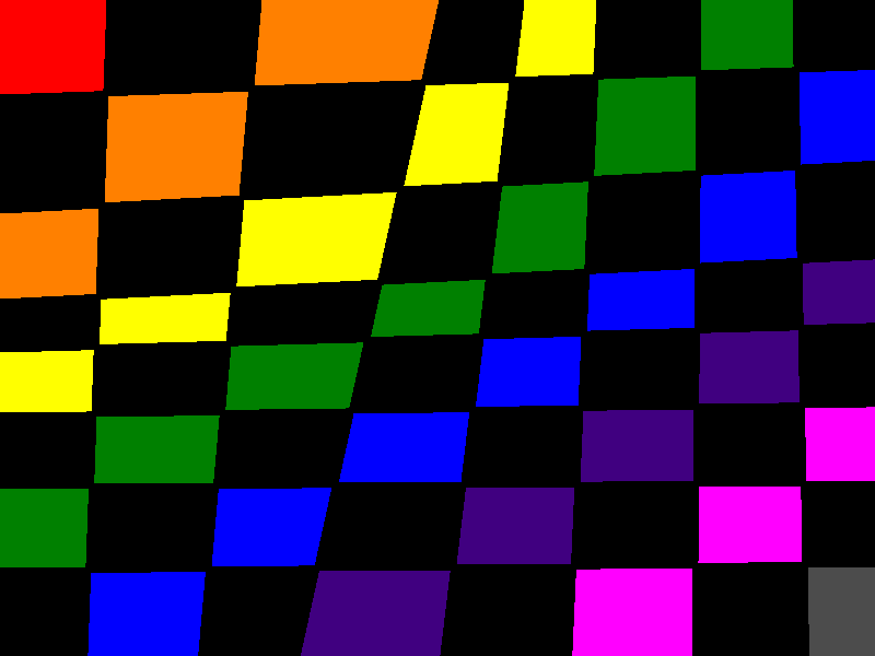 checkerrainbow