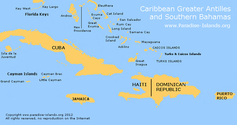 greater-antilles-map