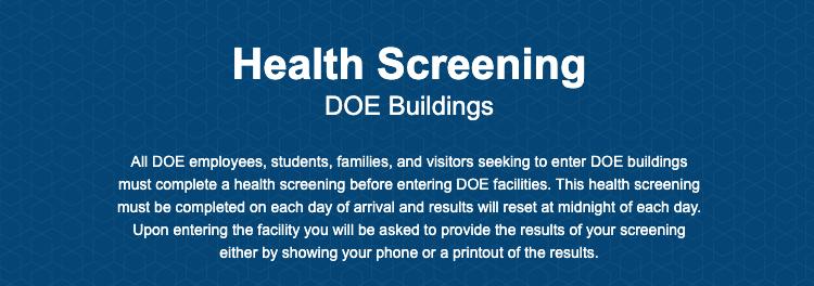Health Screening - P.S. 119 Amersfort School of Social ...